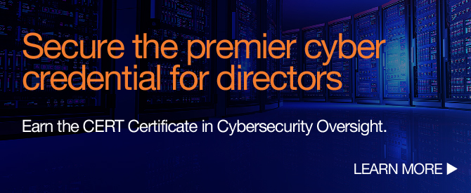 Cyber-Risk Certificate Course